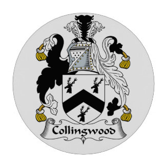 Escudo de la familia de Collingwood Fichas De Póquer