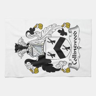 Escudo de la familia de Collingwood Toalla De Cocina