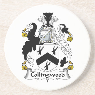 Escudo de la familia de Collingwood Posavaso Para Bebida