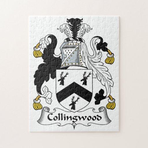 Escudo de la familia de Collingwood Puzzle Con Fotos