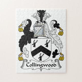 Escudo de la familia de Collingwood Puzzles