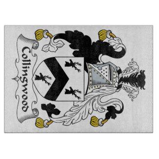 Escudo de la familia de Collingwood Tabla De Cortar