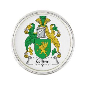 Escudo de la familia de Collins Pin