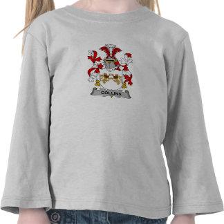 Escudo de la familia de Collins Camisetas