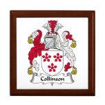 Escudo de la familia de Collinson Cajas De Regalo