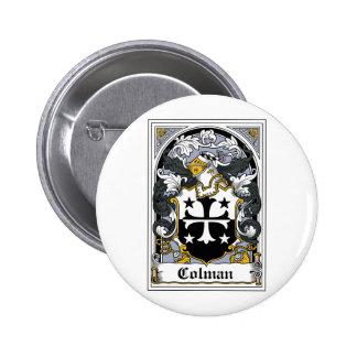 Escudo de la familia de Colman Pin