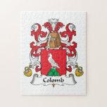 Escudo de la familia de Colomb Rompecabezas Con Fotos