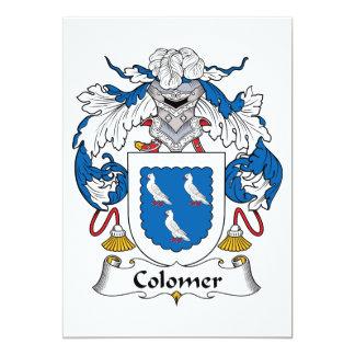 Escudo de la familia de Colomer Comunicado Personal