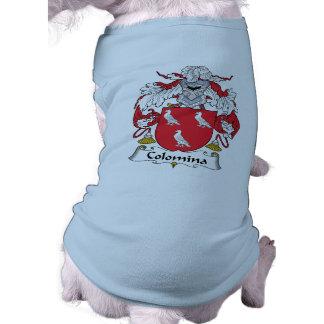 Escudo de la familia de Colomina Camisetas De Perro