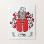 Escudo de la familia de Colonna Puzzle Con Fotos