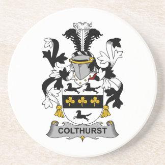 Escudo de la familia de Colthurst Posavaso Para Bebida