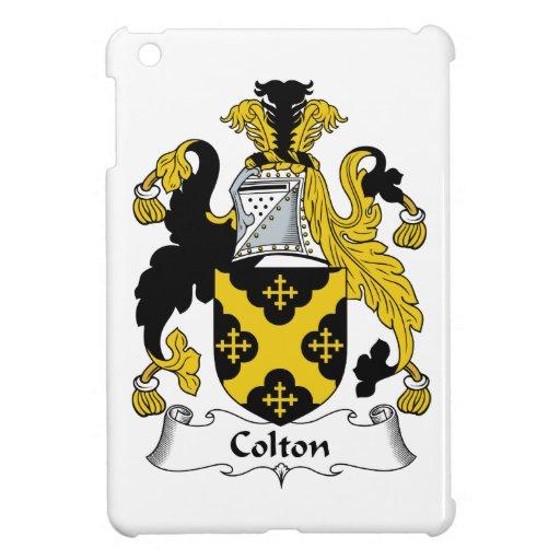Escudo de la familia de Colton iPad Mini Cárcasa