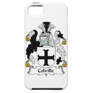 Escudo de la familia de Colville iPhone 5 Carcasas