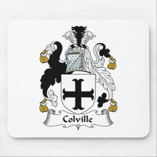 Escudo de la familia de Colville Alfombrilla De Raton
