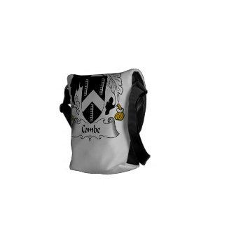 Escudo de la familia de Combe Bolsas De Mensajeria