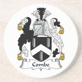 Escudo de la familia de Combe Posavasos Manualidades