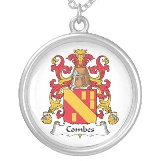 Escudo de la familia de Combes Colgante Personalizado