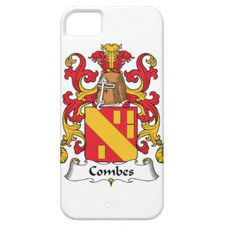Escudo de la familia de Combes iPhone 5 Fundas