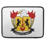 Escudo de la familia de Comstock Funda Para Macbook Pro
