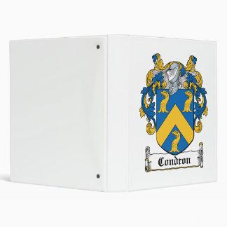 Escudo de la familia de Condron