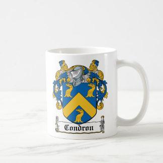 Escudo de la familia de Condron Taza De Café