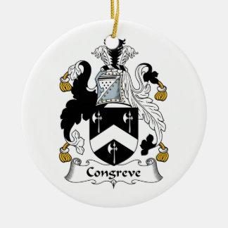 Escudo de la familia de Congreve Ornamento De Reyes Magos