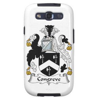 Escudo de la familia de Congreve Galaxy S3 Coberturas