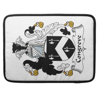 Escudo de la familia de Congreve Fundas Macbook Pro