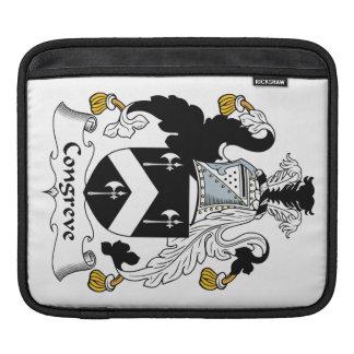 Escudo de la familia de Congreve Mangas De iPad