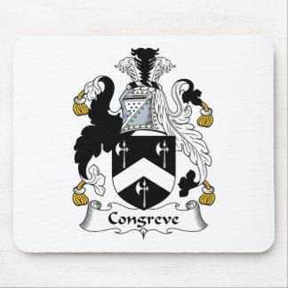 Escudo de la familia de Congreve Alfombrilla De Ratón
