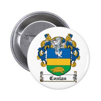 Escudo de la familia de Conlan Pins