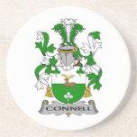 Escudo de la familia de Connell Posavasos Diseño