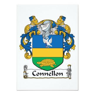 """Escudo de la familia de Connellon Invitación 5"""" X 7"""""""