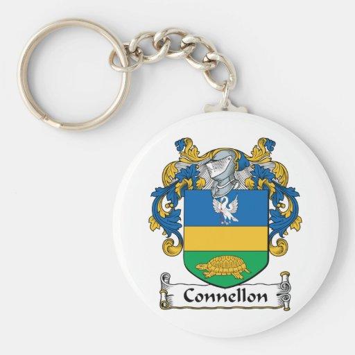 Escudo de la familia de Connellon Llavero Personalizado