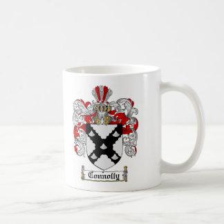 ESCUDO DE LA FAMILIA DE CONNOLLY - ESCUDO DE ARMAS TAZA DE CAFÉ