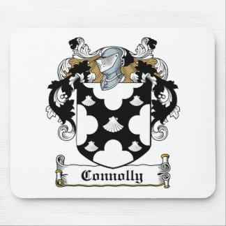 Escudo de la familia de Connolly Tapetes De Ratones