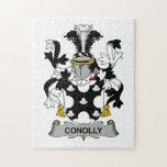 Escudo de la familia de Conolly Puzzles