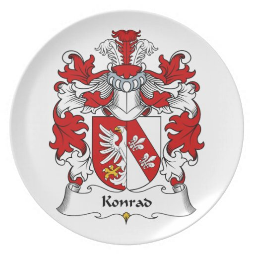 Escudo de la familia de Conrado Plato De Comida