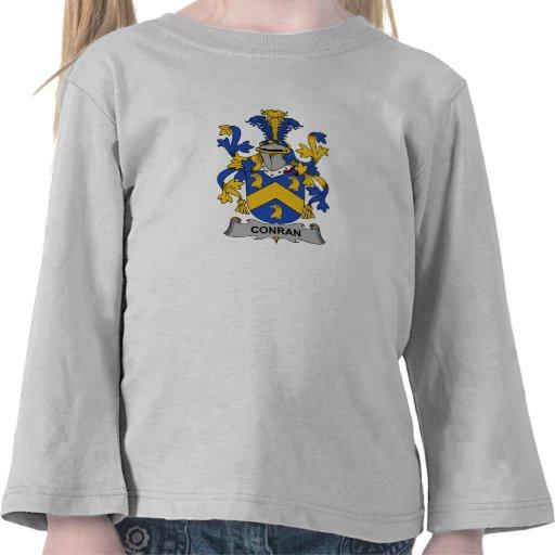 Escudo de la familia de Conran Camiseta