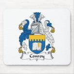 Escudo de la familia de Conroy Alfombrilla De Ratón
