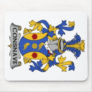 Escudo de la familia de Consnave Tapetes De Ratones