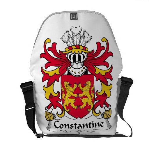 Escudo de la familia de Constantina Bolsa De Mensajería