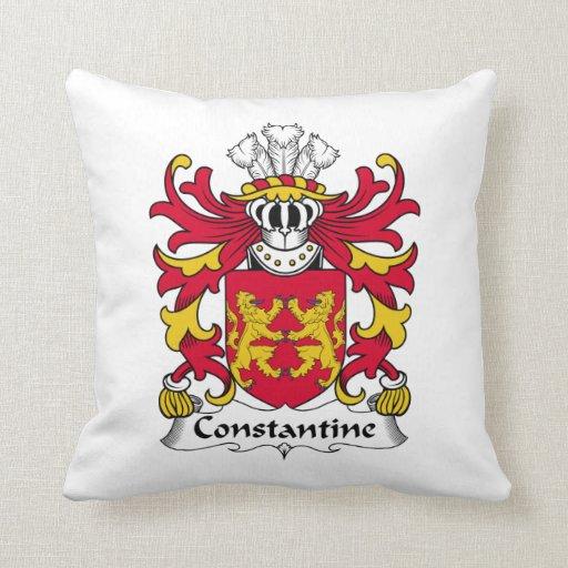 Escudo de la familia de Constantina Cojines
