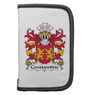 Escudo de la familia de Constantina Planificadores