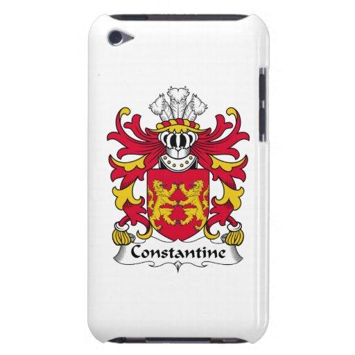Escudo de la familia de Constantina Case-Mate iPod Touch Coberturas