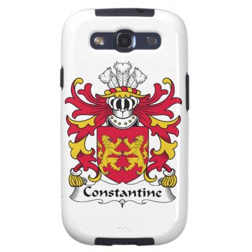 Escudo de la familia de Constantina Galaxy SIII Cárcasa