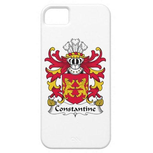 Escudo de la familia de Constantina iPhone 5 Case-Mate Cobertura