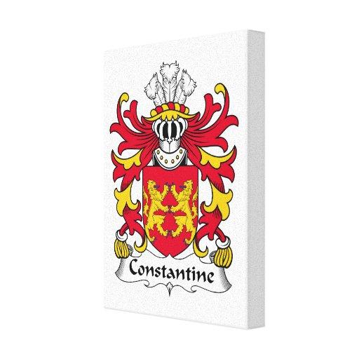 Escudo de la familia de Constantina Lona Estirada Galerías