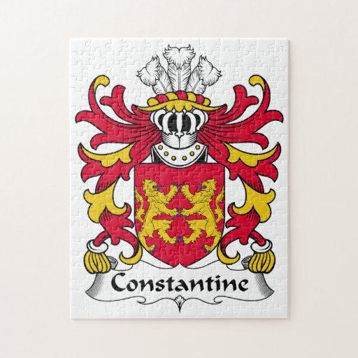 Escudo de la familia de Constantina Puzzles