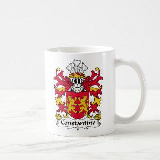 Escudo de la familia de Constantina Tazas